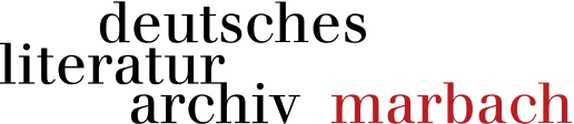 Logo Deutsches Literaturarchiv Marbach